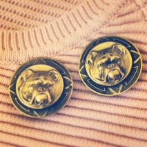 Earrings: Joseff of Hollywood, 1940s, Gemma Redmond Vintage